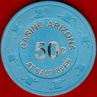 50¢ Casino Chip. Casino Arizona, Phoenix, AZ. I03. - Casino