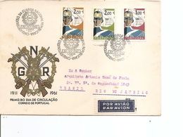 Portugal  - Garde Nationale ( FDC De 1962 Voyagé Vers Le Brésil à Voir) - FDC