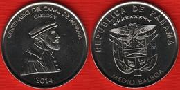 "Panama Medio Balboa 2014 ""Centenary Panama Canal"" UNC - Panama"