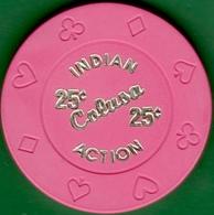 25¢ Casino Chip. Colusa Casino, Colusa, CA. I03. - Casino