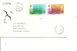 OMS ( FDC Des Salomon De 1966 Voyagé Vers La Papouasie à Voir) - WHO