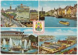 KOBENHAVN, COPENHAGEN, Multi View, Used Postcard [22168] - Denmark