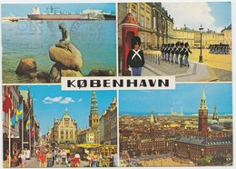 KOBENHAVN, COPENHAGEN, Multi View, 1978 Used Postcard [22170] - Denmark