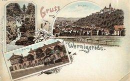 GRUSS AUS WERNIGERODE-VIAGGIATA 1989 - Wernigerode