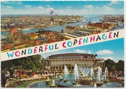 WONDERFUL COPENHAGEN, 1969 Used Postcard [22172] - Denmark