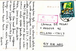 China, Cina. Post Card To Italy 1983 - 1949 - ... Repubblica Popolare