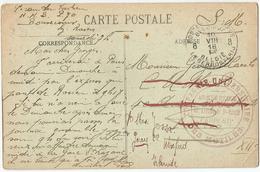 8Eb-243: S.M.PMB 8 - BLP 8 10  VIII 18 █ > :Irlande  / PK La Mairie - Bonsecours .. Verder Uit Te Zoeken - WW I