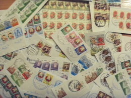 I Do Not Accept Pay Pal Belarus 1000 Stamps Fragments Of Letters Full Of Postmark Variety Of Stamps And Postmarks - Stamps