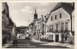 WAIDHOFEN A.d. Ybbs - Strassenpartie, Altes Cabrio, Fotokarte 193? - Waidhofen An Der Ybbs