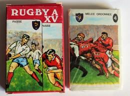 Ancien Jeu De Cartes Rugby à XV Les Jeux De Mikado Mistigri Jeu Des Mariés Cartes Neuves - Rugby
