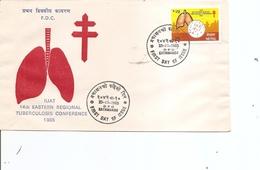 Maladies - Tuberculose ( FDC Du Népal De 1985 à Voir) - Enfermedades