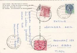 ÖSTERREICH NACHPORTO 1979 - 20 Gro Nachporto + 1,5 S + 120 Lire Auf Ak LAGO DI GARDA - Portomarken