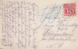 ÖSTERREICH NACHPORTO 1916 - 10 Heller Nachporto Auf Ak SOLDAT Mit Seiner Liebsten - Portomarken
