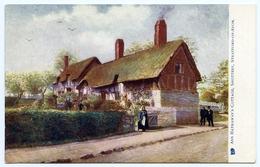 STRATFORD ON AVON : SHOTTERY - ANN HATHAWAY'S COTTAGE (TUCK'S OILETTE) - Stratford Upon Avon