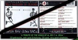 "MARTIN REV + ALAN VEGA ""A TRIBUTE OF THE SONGS"" - Hard Rock & Metal"