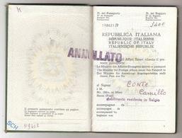 Passeport Italien (1962) - Old Paper