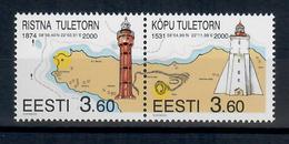 ESTONIA 2000 - FARI 6 ^ SERIE  - MNH ** - Estonia