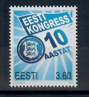 ESTONIA 2000 - DECENNALE DEL CONGRESSO ESTONE  - MNH ** - Estonia