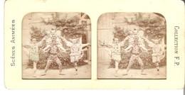 Scénes Animées - Collection F.P. Von Ca. 1900 (S001) - Photos Stéréoscopiques