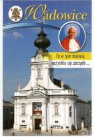 Wadowice, The Birthplace Of Pope John Paul II, Sa Basilique . Carte Postale Neuve Non Circulée - Eglises Et Couvents
