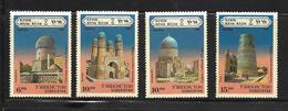 OUZBEKISTAN 1995 MONUMENTS YVERT N°51/54  NEUF MNH** - Ouzbékistan
