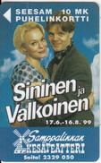 FINLAND - Sininen Ja Valkoinen, Turun Puhelin Telecard, Tirage 11000, Exp. Date 12/00, Used - Finland