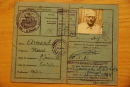 Carte Troupes Coloniales Alger / Algerie - Historical Documents
