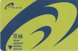 FINLAND - AURIA/New Logo, Turun Puhelin Telecard, Tirage 10000, Exp.date 12/01, Used - Finland