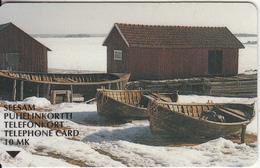 FINLAND - Archipelago 1, Turun Puhelin Telecard, Tirage 47500, Exp. Date 06/99, Used - Finland