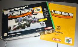 NINTENDO 64 Jeu De Formule 1 World Grand Prix Avec Boite Et Notice - Accessories