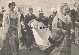 Athènes Mariage Princier Marie Bonaparte & Georges De Grece 23x17 + 26x8 + 23x10 Cm 1907 ( Bien Lire La Description) - Vieux Papiers