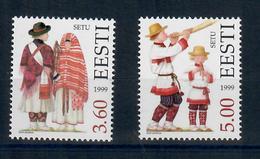 ESTONIA 1999 - COSTUMI REGIONALI 6^ SERIE - MNH ** - Estonia