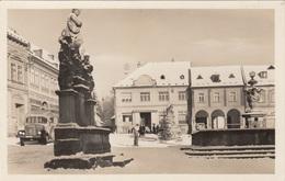 JILEMNICE - Hauptplatz, Postautobus?, Fotokarte 1935?, Gute Erhaltung - Tschechische Republik