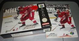 NINTENDO 64 Jeu De Hockey Sur Glace NHL Avec Boite Et Notice - Accessories