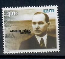 ESTONIA 2000 - AUGUST MALK - MNH ** - Estonia