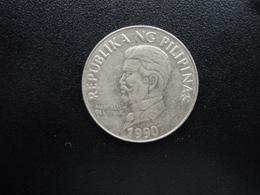 PHILIPPINES : 50 SENTIMO   1990    KM 242.1    SUP - Philippines