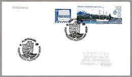 POSTRODDEN KLINTEHAMN - BÖDA. Correo En Barco. Klintenhamn 1986 - Correo Postal