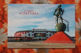 "RUSSIA MOSCOW ""Spartak"" Stadium / Stade - Modern Postcard - Stadions"