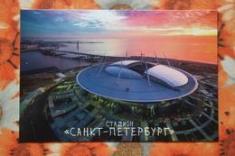 "RUSSIA Petersburg ""SANKT-PETERBURG"" Stadium / Stade - Modern Postcard - Stadions"