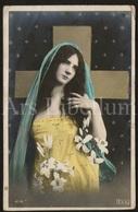 Postkaart / Postcard / Femme / Woman / Ed. E.L.D. No 4178 / 2 Scans - Anges