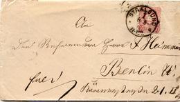 (Lo2788) Brief DR St. Stralsund N. Berlin 1878 - Deutschland
