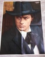 Poster ANCIEN- Alain Delon - Salut Les Copains - Affiches & Posters