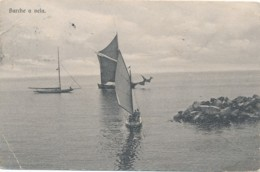 U.703.  SAN REMO (?) - Barche A Vela - 1909 - Ediz. Brunner - San Remo