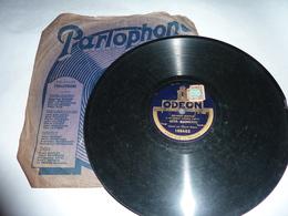 Disque 78 T Gramophone Phonographe Odéon - Éduardo Bianco - 78 G - Dischi Per Fonografi