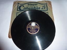Disque 78 T Gramophone Phonographe Columbia - Mario Melfi - 78 Rpm - Schellackplatten