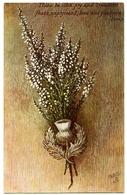 SCOTLAND : A SPRIG O' HEATHER ( ROBERT BURNS) (TUCK'S OILETTE) - Flowers