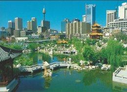 Chinese Garden - Darling Harbour Sydney. Australiua.   B-3319 - Sydney