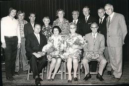 MELLE VOGELHOEK     FOTO 1973 - 74  15 X 9 CM - FEESTKOMITEE - Melle