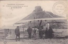 63 / L'AUVERGNE PITTORESQUE : Arrivée Du L'aviateur Renaux Au Sommet Du Puy De Dôme - Frankreich