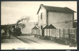 Ancienne Reproduction D'une CPA - Gare De Razou - Commune De Brassy - Francia